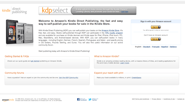 KDP Select - how to become an amazon bestseller