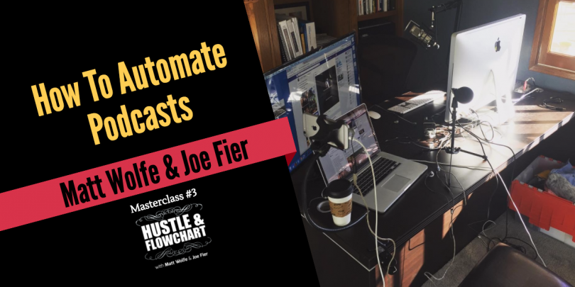 automate podcasts