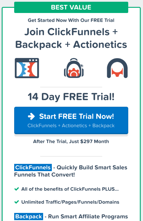 Clickfunnels Vs LeadPages - Free Trial