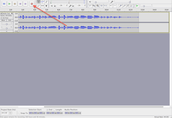 Audacity - How To Make A Podcast