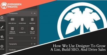 How We Use Designrr To Grow A List, Build SEO, And Drive Sales