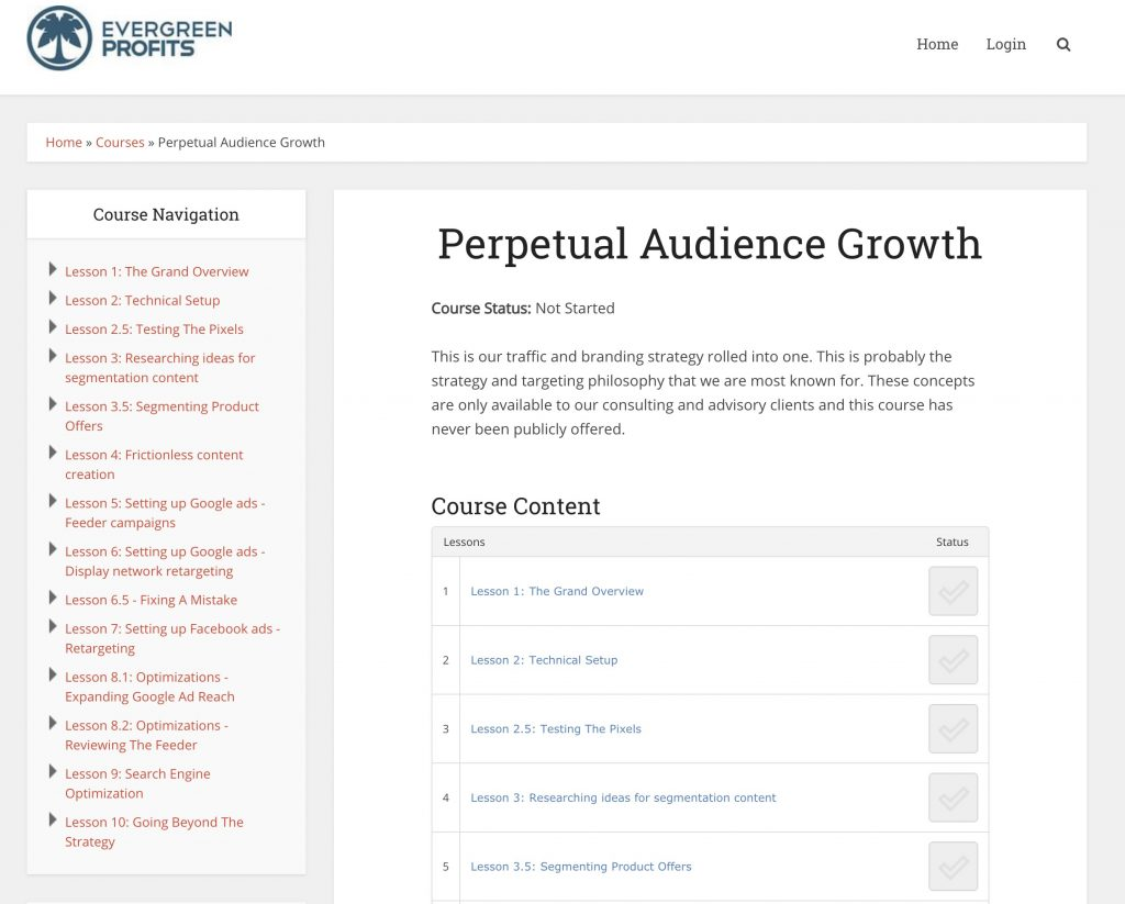 Perpetual Audience Growth