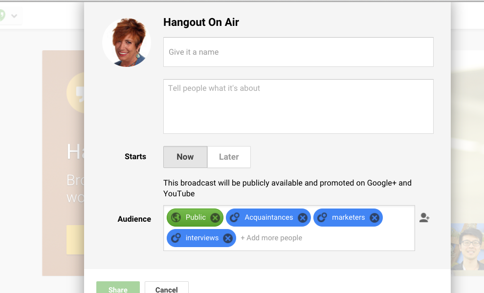 Build Your Brand With Hangouts